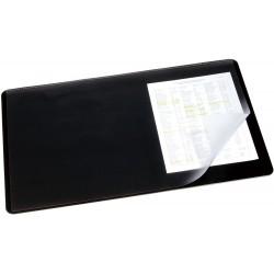 Durable 7202, podložka na stůl s průhlednou klopou 530x400 mm, černá