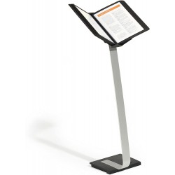 Durable 5910, SHERPA Stand PRO 10, podlahový stojan s 10 rámečky