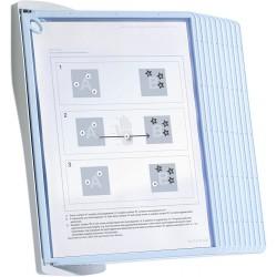 Durable 5911, SHERPA BACT-O-CLEAN Wall 10, nástěnný modul s 10 rámečky