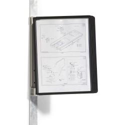 Durable 5914, VARIO MAGNET Wall 5, nástěnný držák s 5 rámečky, černý