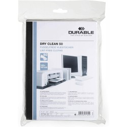 DURABLE 5734, suché čistící ubrousky DRY CLEAN, 50 ks