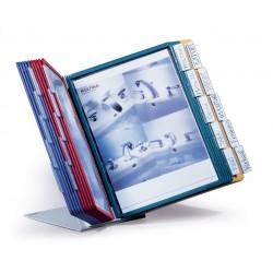 Durable 5699, VARIO Desk Unit 20, stolní displej A4 s 20 rámečky