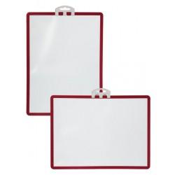 Durable 5613, SHERPA rámeček A4 s úchytem červená