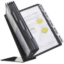Durable 5570, VARIO TABLE 10, stolní displej A4 s 10 rámečky, černý