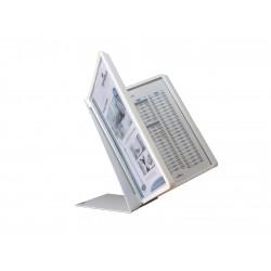 Durable 5570, VARIO TABLE 10, stolní displej A4 s 10 rámečky, bílý