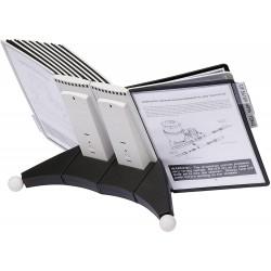 DURABLE 5519, SHERPA Table 20, stolní modul s 20 rámečky