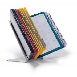 Durable 5510, VARIO TABLE 30, stolní displej A4 s 30 rámečky