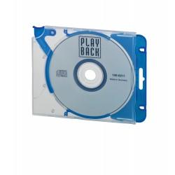 Durable 5269, QUICKFLIP Complete, ergonomický obal pro CD/DVD s eurozávěsem