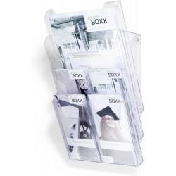 Durable 8613, COMBIBOXX PRO, kombinovaný prospektový stojan na stůl i na stěnu