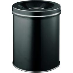 Durable 3305, kovový odpadkový koš 15 litrů kulatý, samozhášecí