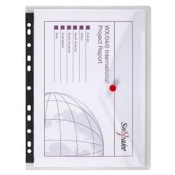Snopake 12566, spisové desky s eurozávěsem A4, balení 5ks