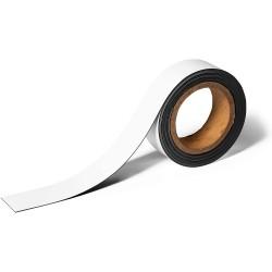 Durable 1709, Magnetic Labelling Tape 40mm, magnetická páska na roli bílá