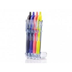 Pilot gelové pero G-2, sada 4 barev, hrot 0,7 mm, set2go