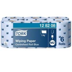 Tork Advanced 128208 utěrka se středovým odvíjením 415 modrá, návin 320 m, M2, karton 6 rolí