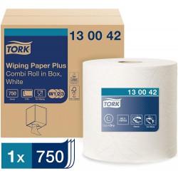 Tork 130042 papírová utěrka Plus - malá role v boxu, návin 255 m, W1/W2/W3