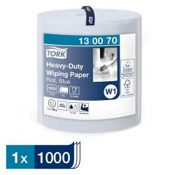 Tork Heavy-Duty 130070 papírová utěrka dvouvrstvá modrá, návin 340 m, W1