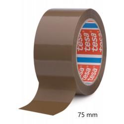 Balící páska lepící Tesa 4280 hnědá, 75x66