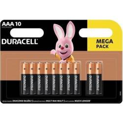 Duracell Basic baterie mikrotužkové AAA, alkalické, blistr 10ks