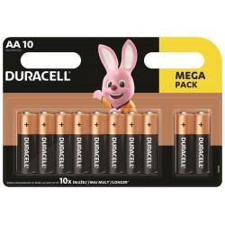 Duracell Basic baterie tužkové AA, alkalické, blistr 10ks