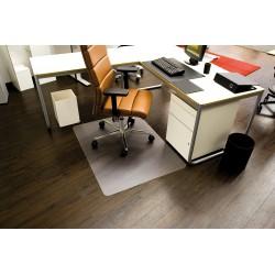 Podložka pod židli na podlahu RS Office Ecoblue 90x120 cm, čirá