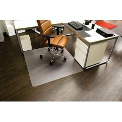 Podložka pod židli na podlahu RS Office Ecoblue 110x120 cm, čirá