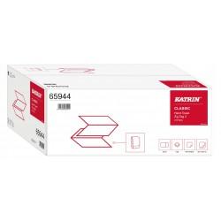 Katrin 65944, Papírové ručníky ZZ, 2vrstvé recykl, 20bal. x 150 útržků , bílé