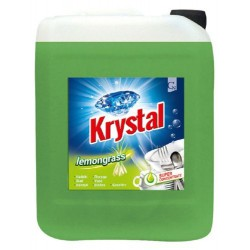 KRYSTAL, mycí prostředek na nádobí lemongrass, obsah 5 litrů