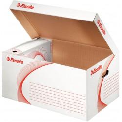 Esselte 128900, archivační kontejner s víkem, bílá