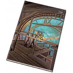 Záznamní kniha A4 linka šitá, 200 listů