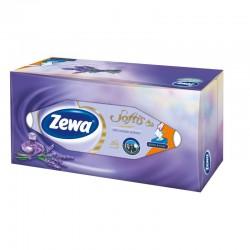 Zewa Softis Perfume, kapesníky 4 vrstvé box, 80ks, 100% celulóza