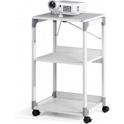 Durable 3701, Pojízdný odkládací stolek pro projektory, šedá