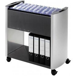 Durable 3076, Pojízdný stolek na závěsné desky Design Line 80 Multi