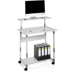 Durable 3718, multifunkční pojízdný stolek pro PC