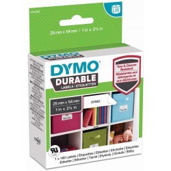 DYMO Durable LW, Adresní štítky 25x54 mm, 160 štítků, S2112283