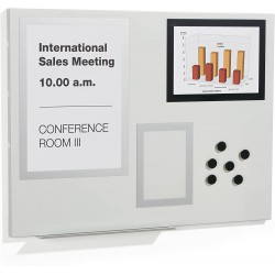 Durable 500110 , Magnetická tabule DURAFRAME 600x450 mm