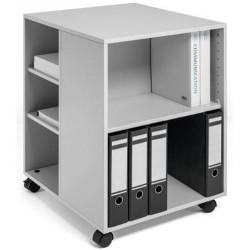 Durable 3113, Multifunkční skříň s kolečky otevřená Multi Function Trolley 74/59 šedá