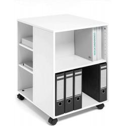 Durable 3113, Multifunkční skříň s kolečky otevřená Multi Function Trolley 74/59 bílá