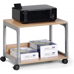 Durable 3710, Multifunkční stolek s kolečky MULTI TROLLEY 48 - buk