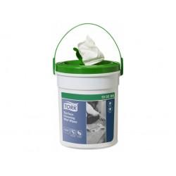 Tork Premium 190594, vlhčené utěrky na čištění povrchů (bílá), 58 útržků, W10