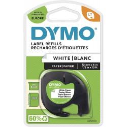 Dymo LetraTag páska papírová 12mm x 4m, bílá, S0721510