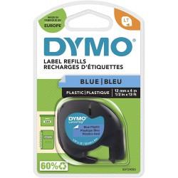 Dymo LetraTag páska plastová 12mm x 4m, modrá, S0721650