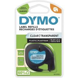 Dymo LetraTag páska plastová 12mm x 4m, transparentní, S0721530