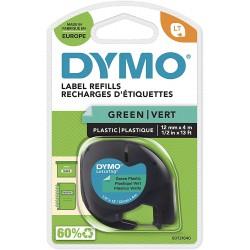 Dymo LetraTag páska plastová 12mm x 4m, zelená, S0721640