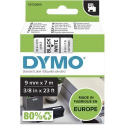 DYMO polyester páska D1 9mm x 7m, černá na bílé, S0720680