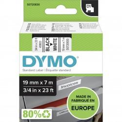 DYMO polyester páska D1 19mm x 7m, černá na bílé, S0720830