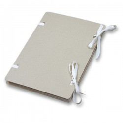 Spisové desky s tkanicí A4 EMBA, přírodní