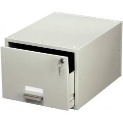 DURABLE 3353, uzamykatelná kovová kartotéka na karty formátu A5