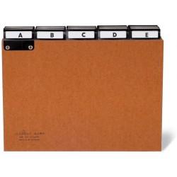 Durable 4255, Rozdružovač z lepenky A5 s abecedním indexem A-Z, pro kovové kartotéky