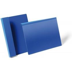 Durable 1723, závěsné plastová kapsa na dokumenty, označení palet, formát A4, modrá