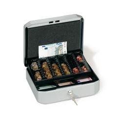 Durable 1778, kovová pokladna Euroboxx mini na mince a bankovky